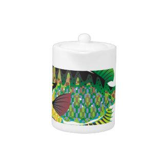 Bluegill Panfish Vector Teapot