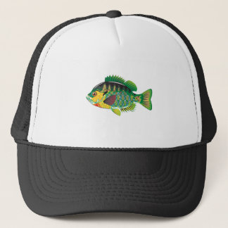 Bluegill Panfish Vector Trucker Hat