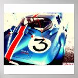 BlueGranSport oil paint effect, Print