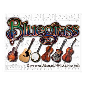 """""""Bluegrass – 100% American-Made"""" Postcard"""