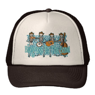 ¡Bluegrass al hueso! Gorros