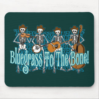 ¡Bluegrass al hueso! Mouse Pad