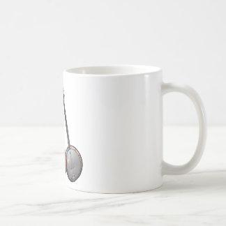 Bluegrass Band Cartoon Classic White Coffee Mug
