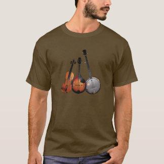 Bluegrass Band Cartoon T-Shirt