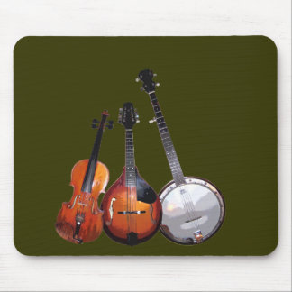 Bluegrass Band Filtered Mouse Pad
