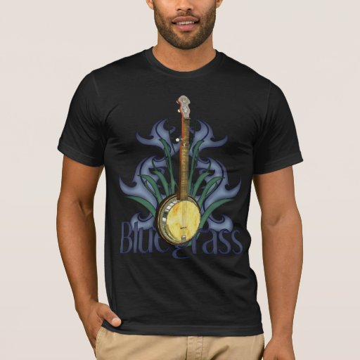 Bluegrass Banjo Design T-Shirt