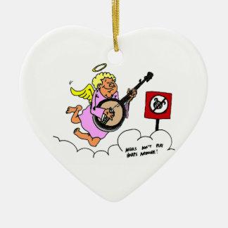 Bluegrass Banjo Humor Ornaments