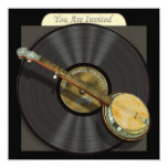 Bluegrass Banjo Party or Event Invitations