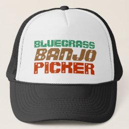 BLUEGRASS, BANJO, PICKER TRUCKER HAT