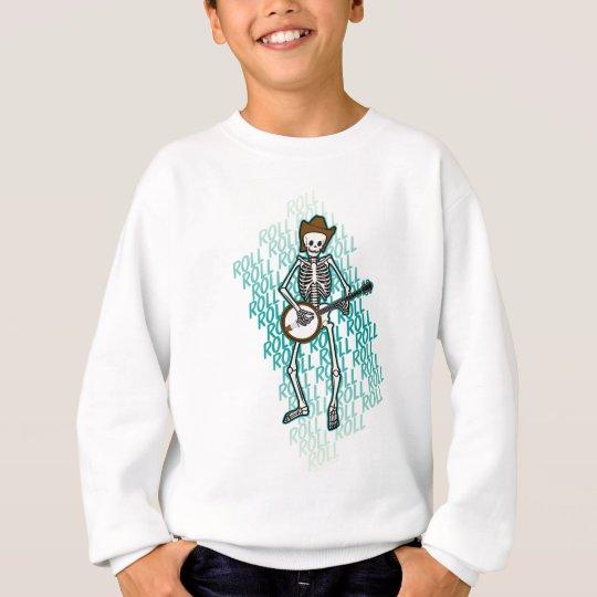 Bluegrass Banjo Skeleton Sweatshirt