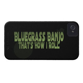 Bluegrass Banjo. That's How I Roll Case-Mate iPhone 4 Cases