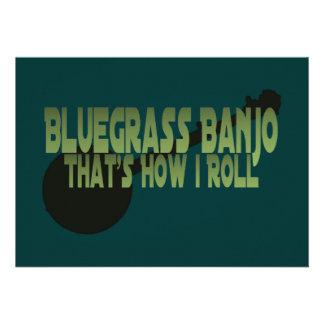Bluegrass Banjo. That's How I Roll Custom Invite