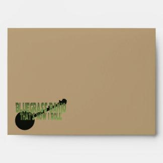 Bluegrass Banjo. That's How I Roll Envelope