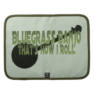 Bluegrass Banjo. That's How I Roll Folio Planners