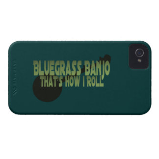Bluegrass Banjo. That's How I Roll iPhone 4 Case