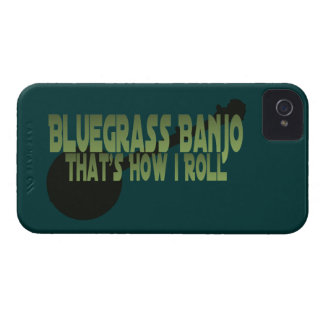 Bluegrass Banjo. That's How I Roll iPhone 4 Cover