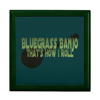Bluegrass Banjo. That's How I Roll Keepsake Boxes