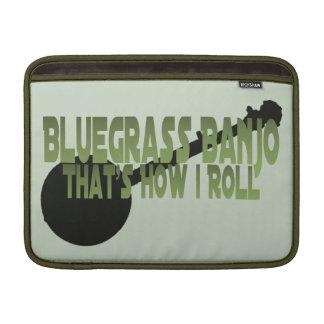 Bluegrass Banjo. That's How I Roll MacBook Sleeve