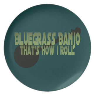 Bluegrass Banjo. That's How I Roll Plates