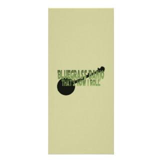 Bluegrass Banjo. That's How I Roll Custom Rack Cards