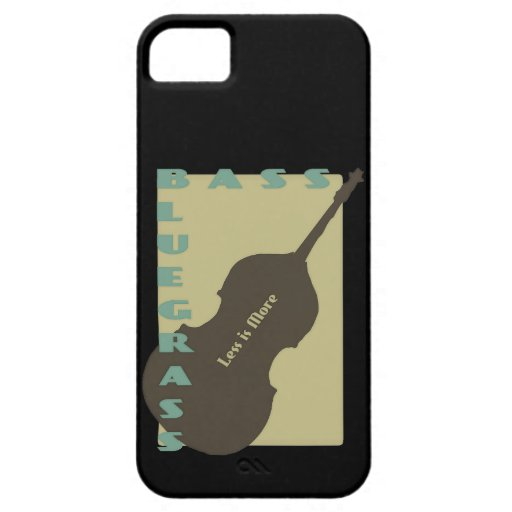 Bluegrass Bass: Less is More iPhone 5 Case
