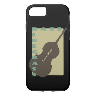 Bluegrass Bass: Less is More iPhone 8/7 Case