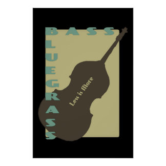 Bluegrass Bass: Less is More Poster