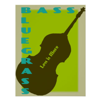 Bluegrass Bass: Less is More Poster