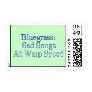 Bluegrass: Canciones tristes a la velocidad de la Estampillas