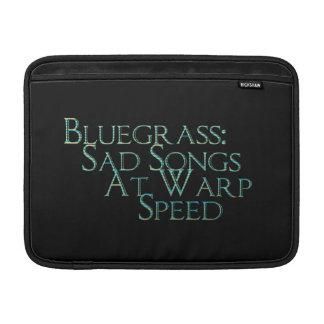 Bluegrass: Canciones tristes a la velocidad de la  Fundas Para Macbook Air