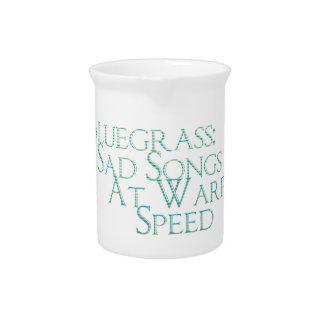 Bluegrass: Canciones tristes a la velocidad de la  Jarras Para Bebida