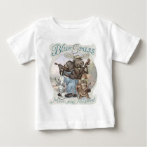 Bluegrass Critters by Mudge Studios Baby T-Shirt