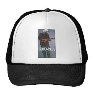 """""""Bluegrass"""" -Dog with Mandolin- Trucker Hat"""