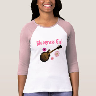 """Bluegrass Girl"" Jersey T~shirt SIZE: Large (PINK) T-Shirt"
