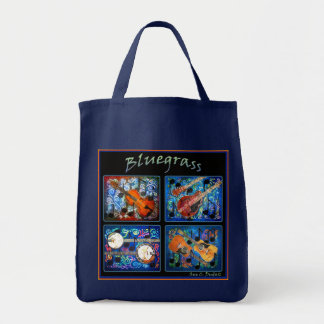 BLUEGRASS GROCERY BAG