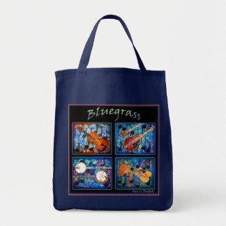 BLUEGRASS GROCERY BAG