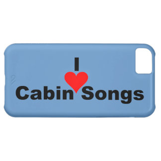 Bluegrass: I (heart) Cabin Songs Case For iPhone 5C