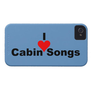 Bluegrass: I (heart) Cabin Songs iPhone 4 Case
