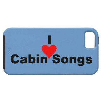 Bluegrass: I (heart) Cabin Songs iPhone SE/5/5s Case