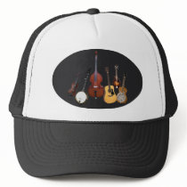 BLUEGRASS INSTRUMENTS-HAT TRUCKER HAT