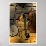 Bluegrass Instruments Poster