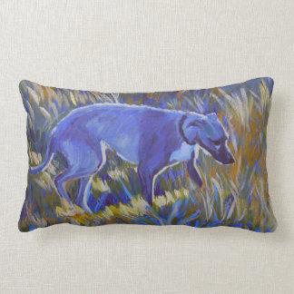 'Bluegrass Lurcher' cushion