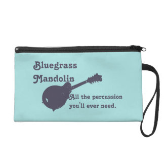 Bluegrass Mandolin - All the Percussion You Need Wristlet