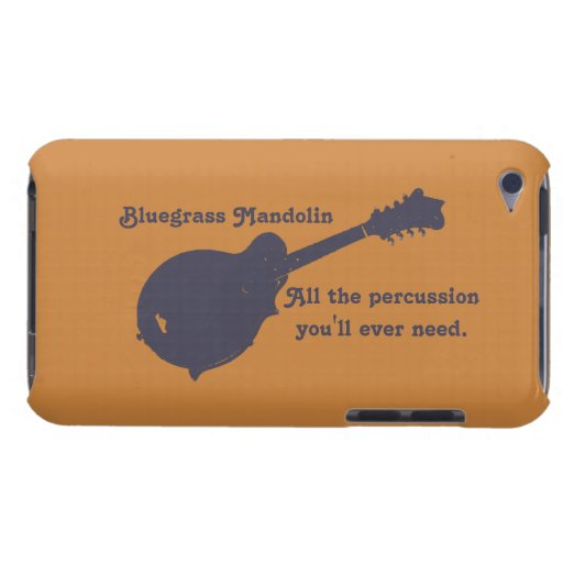 Bluegrass Mandolin - All the Percussion You Need Barely There iPod Cases