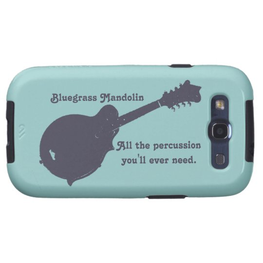 Bluegrass Mandolin - All the Percussion You Need Galaxy SIII Case