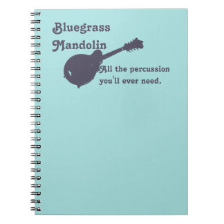 Bluegrass Mandolin - All the Percussion You Need Notebook