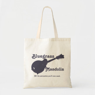 Bluegrass Mandolin - All the Percussion You Need Tote Bag