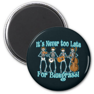 Bluegrass más allá imán redondo 5 cm