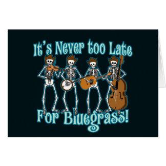 Bluegrass más allá tarjeta de felicitación