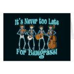Bluegrass más allá tarjetas